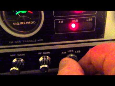 Uniden Washington CB Radio Channel Noise