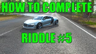 Forza Horizon 4 - Fortune Island #5 Riddle (Audi R8) 1,000,000 $$ reward