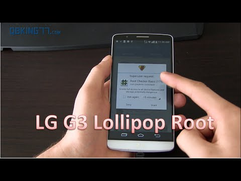 How to Root the LG G3 on Android 5.0 Lollipop (All Variants)