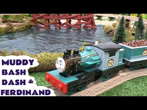 Thomas and Friends Play Doh Muddy Ferdinand Bash Dash Train Thomas Y Sus Amigos Play-Doh Tomac