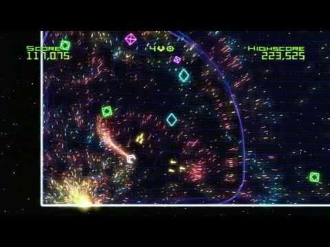 Classic Game Room HD - GEOMETRY WARS: RETRO EVOLVED Xbox 360 review
