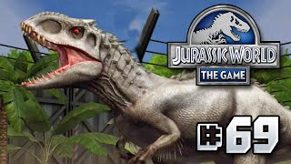 INDOMINUS REX & HYBRIDS + GIVEAWAY!!    Jurassic World - The Game - Ep 69 HD