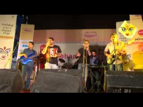 Chandrabindoo at Ballygunj Cultural 2012  Dudh Na Khele 1