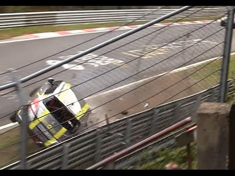 Big Crash & Action Nordschleife Nürburgring Touristenfahrten 09.10.2016