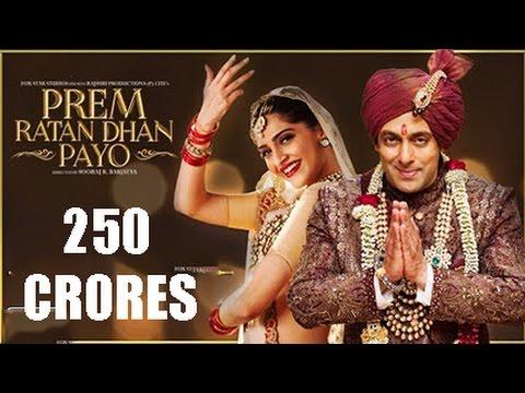 Prem Ratan Dhan Payo Box Office Collection - Salman Khan's Film Earns 250 CRORE