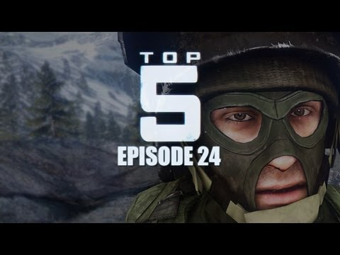 Top 5 Battlefield 3 Plays! - Episode 24