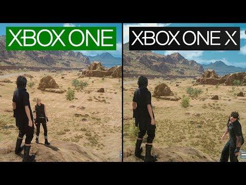Final Fantasy XV   Xbox One X vs Xbox One   4K Graphics Comparison   Comparativa