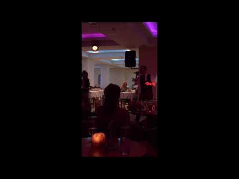 Nathan Sutcliffe in Corfu/Sidari 2016 doing his Michael Buble tribute
