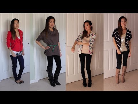 FASHION FRIDAY Ep.5   Fall Sweater Pairings