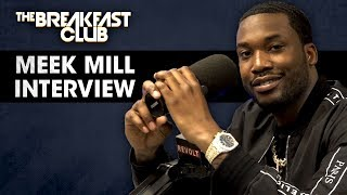 Meek Mill Talks Justice Reform Opioid Addiction Talks With T I Nicki Minaj More