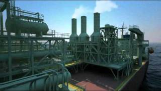 Oil and Gas - 3D Animation - FPSO