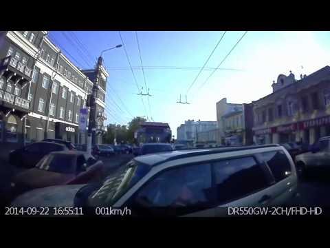 Авария в Кирове 22 09 2014