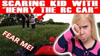 """SCARING KID WITH """"HENRY THE RC CAR""""! (EPISODE #98)"""