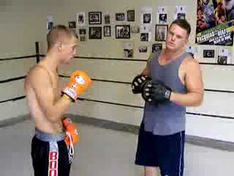 Modified Boxing Striking Training Workout For MMA. Image 1