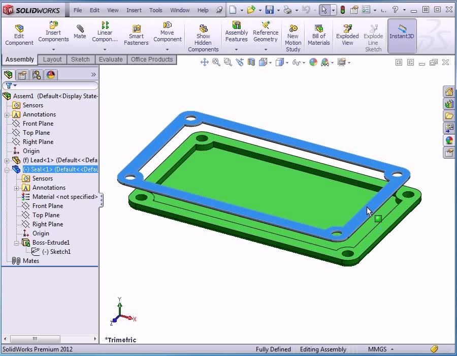 how to show all mates in solidworks