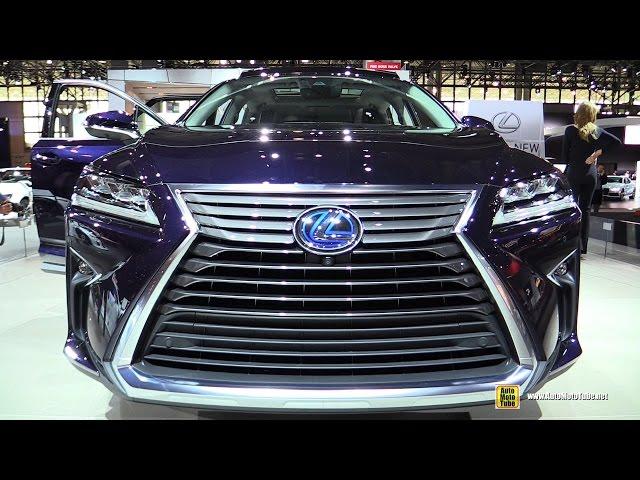 2016 Lexus RX450h Hybrid - Exterior and Interior ...
