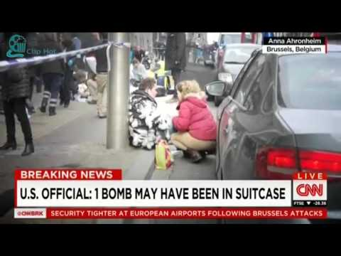 2016 BELGIUM AIRPORT EXPLOSION BOMBINGS   DEATH TOLL RISES TO 34 IN BRUSSELS TERROR ATTACK