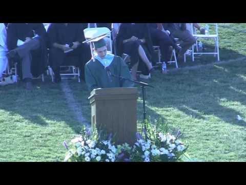 Mainland Regional High School 2014 Graduation Valedictorian Jim Mullin