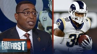 Cris Carter on Rams' offense: Ultimately the Rams have to cut Todd Gurley | NFL | FIRST THINGS FIRST