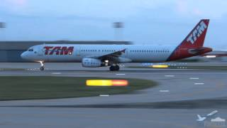 [SBFZ/ FOR] Decolagem RWY13 Airbus A321-231 PT-MXF TAM Linhas Aéreas 25/03/2016
