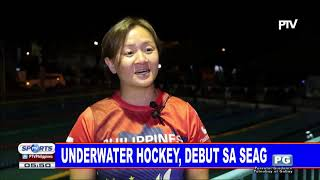 Underwater Hockey, debut sa SEAG