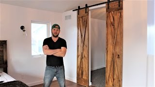 The $60 Double Barn Door - Easy DIY Project