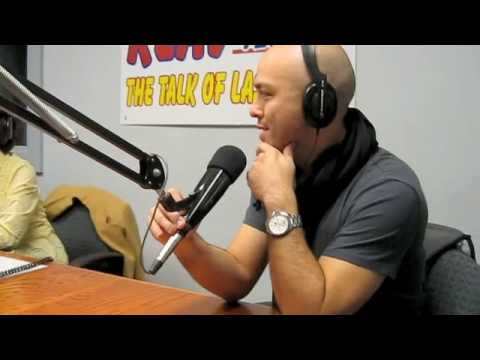 Jo Koy visits his Mom's Radio Show in Las Vegas. Video