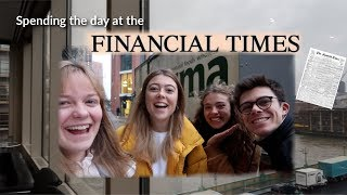Visiting the Financial Times (!!) and Going Home || Vlogmas Day 5