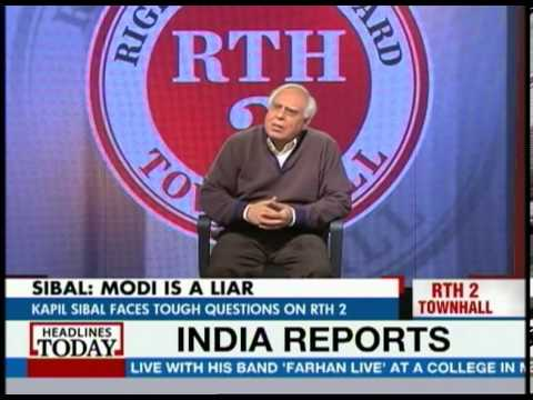 Kapil Sibal on Rahul Gandhi's first interview