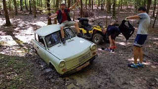 Cu Trabant-ul pe camp! EPISOD 2 - Test Drive Extrem - (Off Road)