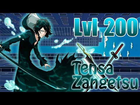 Bleach Brave Souls Tensa Zangetsu Level 200 Review