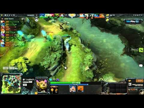 Weplay D2L grand final: NaVI vs Alliance game 1