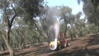 AGRI ACCIÓN.- CAÑON PARA APLICAR EN ARBOLES FRUTALES ALTOS.