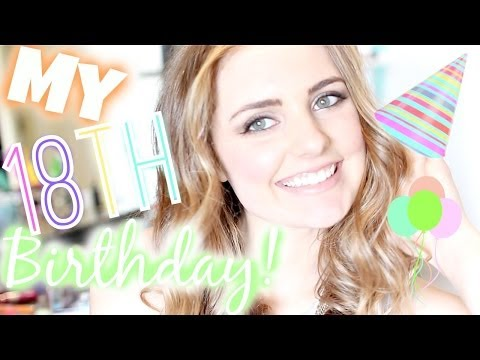 A Day in The Life: My 18th Birthday! | Aspyn Ovard
