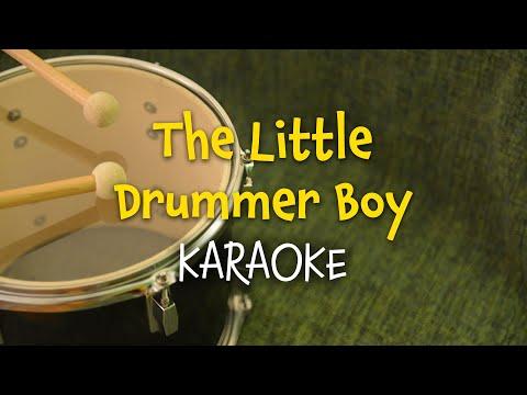 The Little Drummer Boy (instrumental - lyrics video for karaoke)