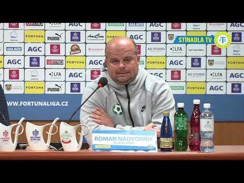 Tisková konference hostujícího trenéra po zápase Teplice - Příbram (27.4.2019)