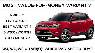 Mahindra XUV300 Review: Price and Features   Most value-for-money variant