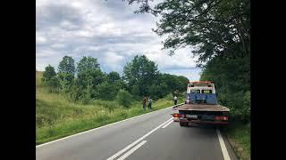 Accident manstire Brebu  dn58 Resita Caransebes