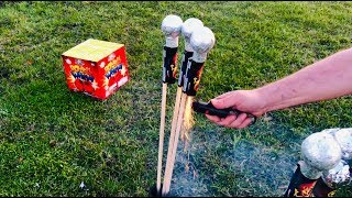 Lighting Fireworks Before the 4th of July!