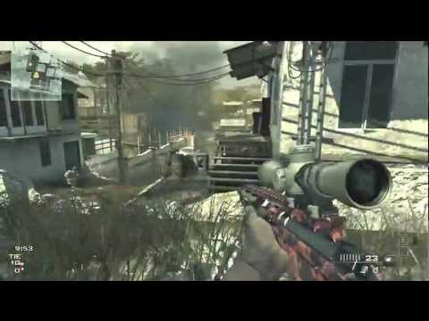 Mw3 MSR Sniper Gameplay - OpTic Predator - OPEN LOBBY INFO