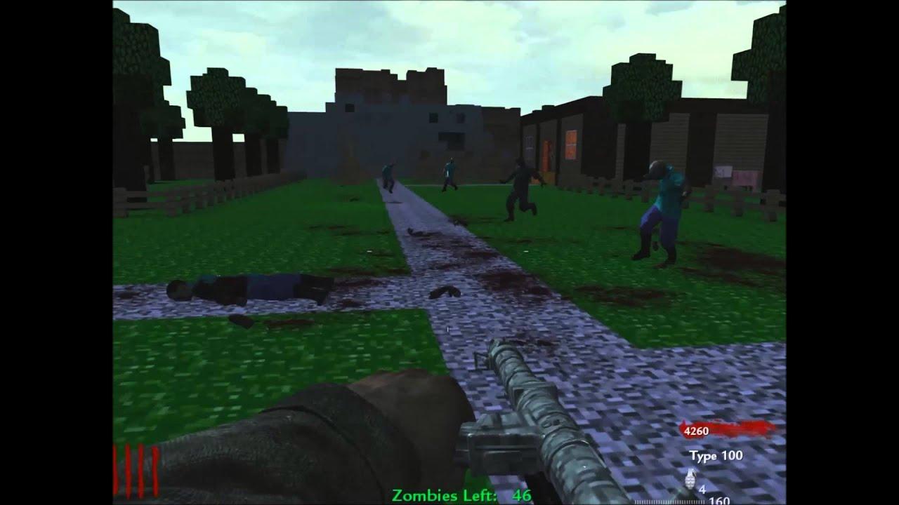 Cod Waw Custom Zombie Maps Pc Minecraft - sevenmachine