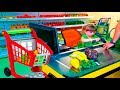 Funny Playground Hello song  Masha and the Bear  other cartoon characters  Indoor playground with ba MP3