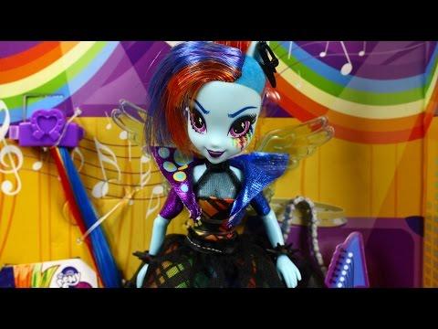 Rainbow Dash Rockin Hairstyle Doll / Stylowa Fryzura Rainbow Dash - EG - My Little Pony