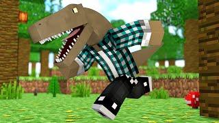 Minecraft : VIREI UM DINOSSAURO !! - ARK CRAFT SURVIVAL #51