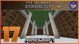 StoneBlock 2 Modpack Ep 17 - EMC Farm - Modded Minecraft