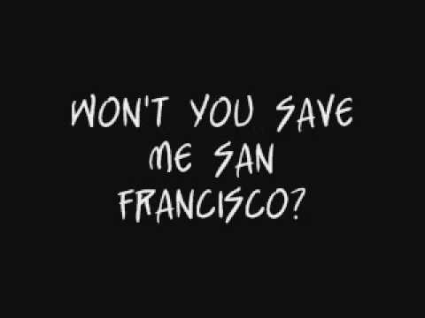 Save Me San Francisco - Train Lyrics video