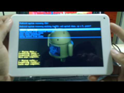 Hard Reset no tablet Multilaser M7s #UTICell