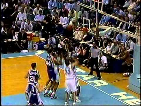03/07/1993:  #6 Duke Blue Devils At #1 North Carolina Tar Heels