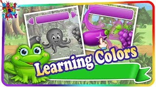 Learn colors - English - toddler learning color games - learning for kids