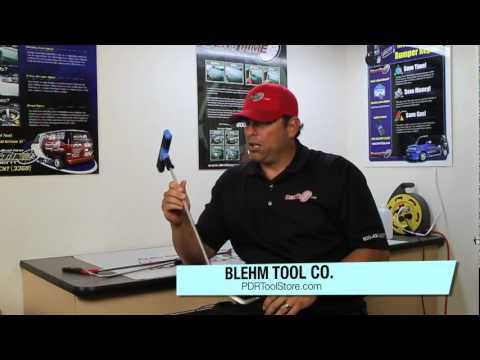 PDR Tool Review   Blehm Tool Co   Paintless Dent Removal Adjustable Tools   Dent Time